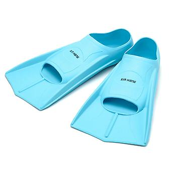 Adult Rubber Swim Training Flippers For Snorkeling