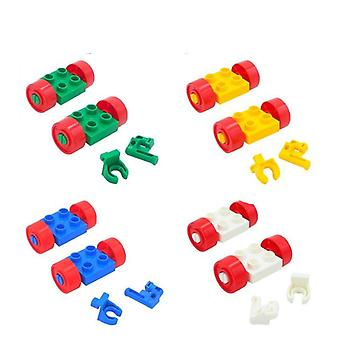 Big Size Building Blocks Accessories, Car, Truck, Plane, And  Motorcycle