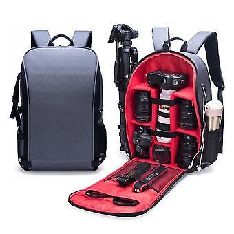 SLR Camera Bag Anti-theft Wodoodporny o dużej pojemności Ramię Outdoor Photography Bag Fashion Camera Backpack (Czerwony)