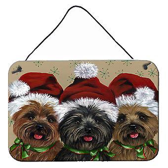 كيرن الكلب عيد الميلاد هافر وكو الجدار أو الباب شنقا يطبع