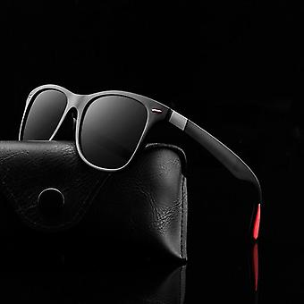 Polarized Sunglasses Men Women Driving Square Frame Sun Glasses Male Goggle