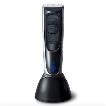 Hc-577 Lcd Digital Display Men's Hair Clipper / Electric Clipper Counter Household Hair Clipper Electric Clipper
