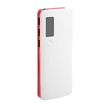 Power Bank Geen batterij Diy Case Telefoon Charge Box Led Zaklamp Usb