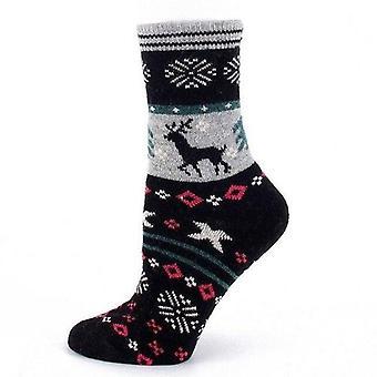 Xmas Woolen Socks Winter