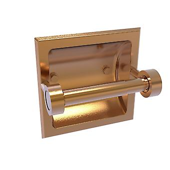 Continental Collection Recessed Toilet Tissue Holder - Brushed Bronze