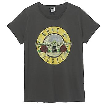 Amplified Guns N Roses Drum Fitted T-Shirt