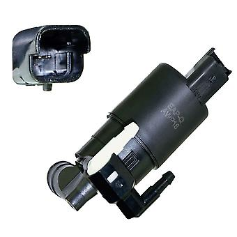 Twin Outlet Washer Pump For Windscree Cleaning System For Citroen, Peugeot & Renault Awp16