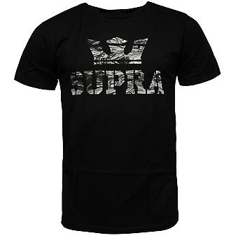 Supra Above Mens T Shirt Short Sleeved Top Casual Black 104000 001 RW95