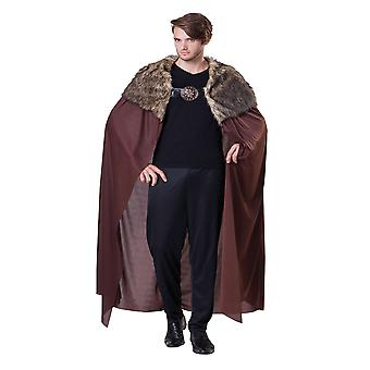 Bristol Nyhed Voksne Unisex Deluxe Fur Plys Collared Cape