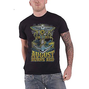 August Burns Red Dove Anchor new Official Mens Black T Shirt