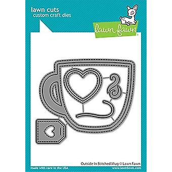 Lawn Fawn outside In Stitched Becher stirbt