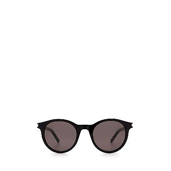 Saint Laurent SL 342 schwarze unisex Sonnenbrille