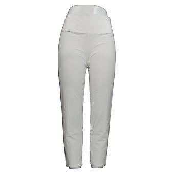 Kobiety z kontrolą Kobiety&s Petite Spodnie Tushy Lifter Slim-Leg White A374340