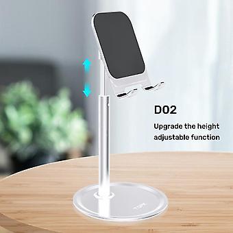 [Upgrade-Version] topk d02 Teleskop Desktop Handy Tablet Halter ständer für ipad air für iphone 12 xs 11 pro poco x3 nfc mi10