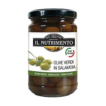 Pitted Italian Green Olives in Brine 280 g