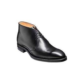 Barker Orkney - Black Calf - 11 | Mens Handmade Leather Chukka Boots | Barker Shoes