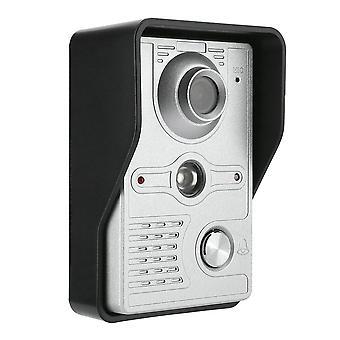 lcd kablet dør telefon visuell video intercom, høyttalertelefon system med vanntett