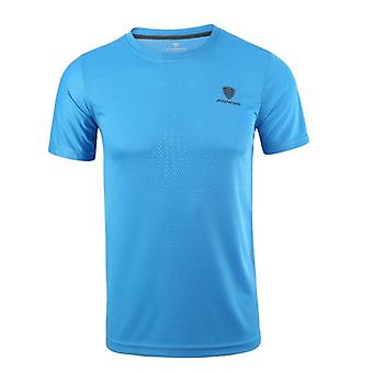 Running T-shirt, Sneldrogende Ademende Sport Walking Fitness Shirt