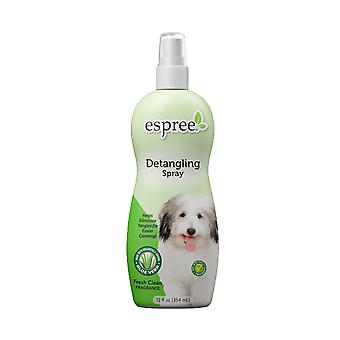 Espree Coat Renewal Tear Free Démêlant & Dematting Spray pour chiens, 355ml