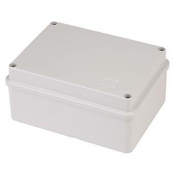 Gewiss GW 44 206 Junction Box Ip56 Screwed Lid Grey 150 x 110 x 70mm No Holes
