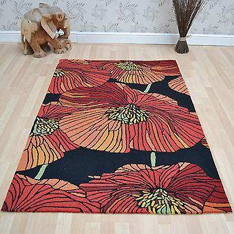 Fantasía alfombras Fa24 negro
