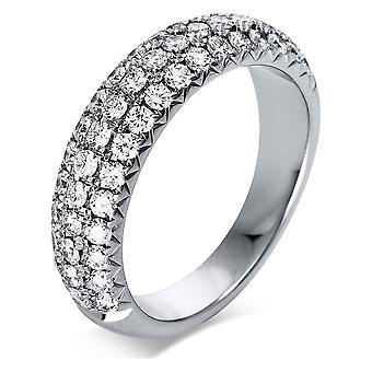 Luna Creation Promessa Ring Pavé 1Q222W853-1 - Ringbreedte: 53