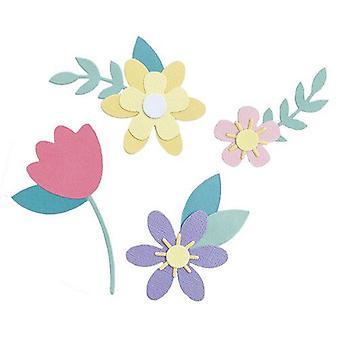 Sizzix Bigz Die - Spring Flowers 665101 Jennifer Ogborn