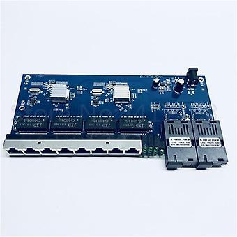 Optyczna konwerter mediów jednomodowy fiber port board