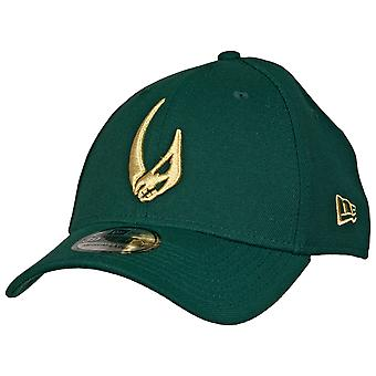 Star Wars Mandalorian Mudhorn Sigil Green New Era 39Thirty Flex Chapeau ajusté