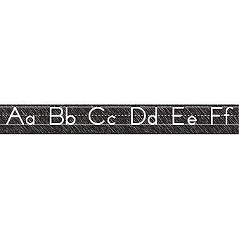 Scribble Chalk Manuscript Magnetic Alphabet Line, Grande