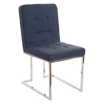 Dining Chair Dekodonia Polyester Steel (48 x 64 x 94 cm)