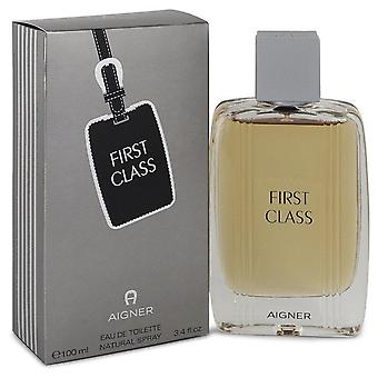 Aigner First Class Eau De Toilette Spray By Etienne Aigner 3.4 oz Eau De Toilette Spray