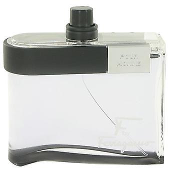 F الأسود Eau De Toilette Spray (Tester) بواسطة سلفاتوري فيراغامو 3.4 أوقية Eau De Toilette Spray