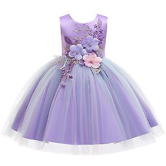 أنيقة حفل زفاف الأميرة الترتر فساتين للطفل