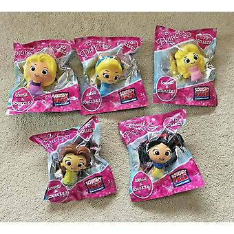 Disney princess set of 5 squishy palz