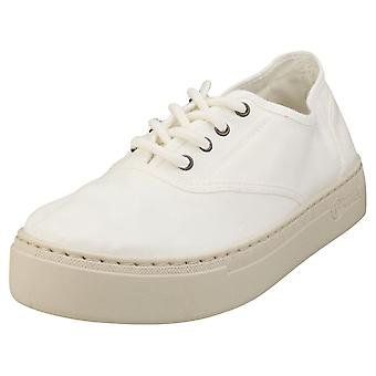 Natural World Old Sama Womens Casual Trainers in White