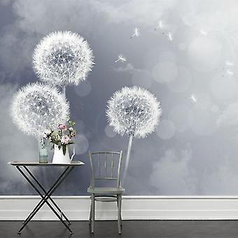 Modern Simple Photo Wallpaper, 3d Romantic, Dandelion, Backdrop Wall, Mural