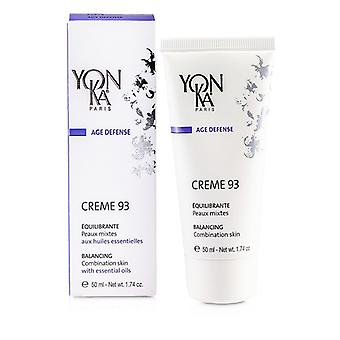 Yonka Age Defense Creme 93 With Essential Oils - Balancing (Combination Skin) 50ml/1.74oz