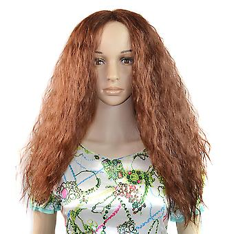 Hair Cap Afro Central Parting Long Wig