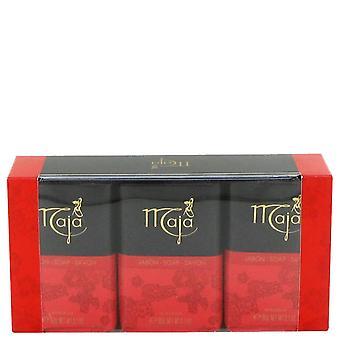 Maja soap (3 pack) by myrurgia 481484 92 ml