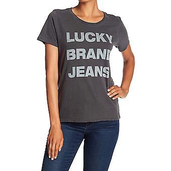 ラッキーブランド|ラッキーブランドジーンズ グラフィック T シャツ