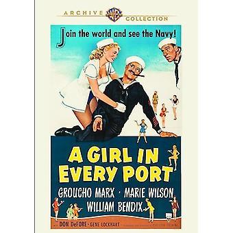 Tyttö jokaisessa portissa [DVD] Usa tuonti