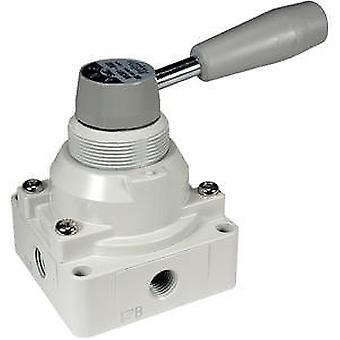 SMC referanse manuell kontroll ventil, dør støpt Aluminium 1/4 i Rc,-5 til +60C
