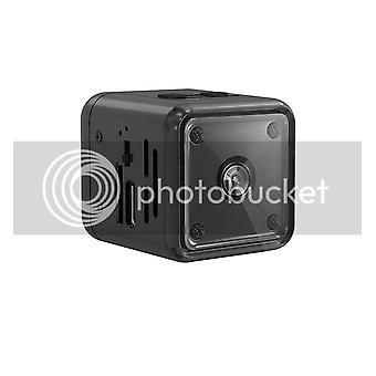 Cámara de vigilancia pequeña 1080P HD, cámara de seguridad de niñera para uso en interiores y exteriores con detección de movimiento y visión nocturna infrarroja