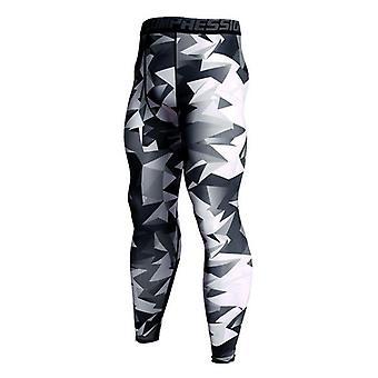 Miesten's Puristus Leggingsit Urheilu housut, Collegehousut Fitness sukkahousut
