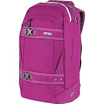 Nitro Snowboards 2018 Casual Backpack, 50 cm, 27 liters, Pink (Grateful Pink)