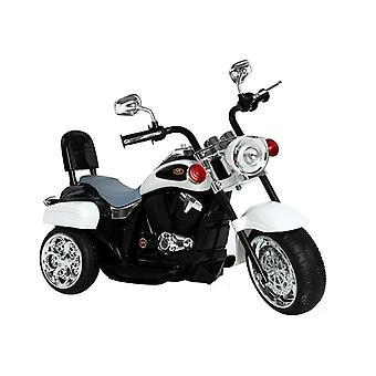 Kindermotor driewieler elektrisch – Wit