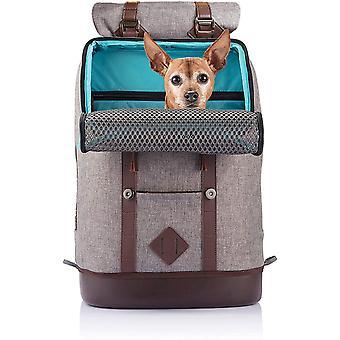 K9 Hunderucksack, Rucksack für Hunde bis 11kg, Tragetasche Hund, Rucksack für Hund und Katze,