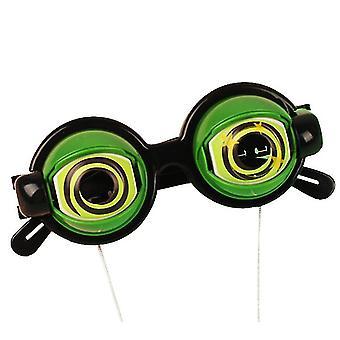 Vihreät hullu silmät lapset hauska lasit lelut uutuus luova hauska rekvisiitta lasit dt5270