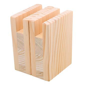 Sollevatori a letto riser per mobili in legno 4CM Groove 10CM Lift Height